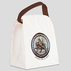 FIN-bacchus-roman-mosaic Canvas Lunch Bag
