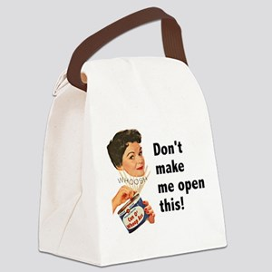 FIN-whoop-ass Canvas Lunch Bag