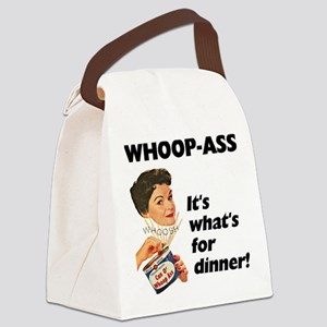 FIN-whoop-ass-dinner Canvas Lunch Bag