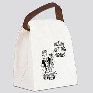 FIN-cooking-sissies Canvas Lunch Bag