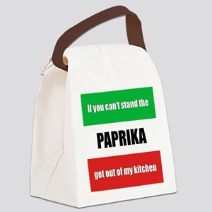 paprika-hungary Canvas Lunch Bag