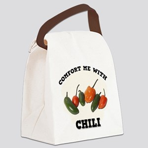 FIN-comfort-chili Canvas Lunch Bag