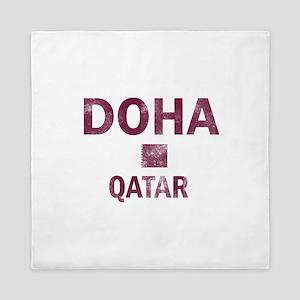 Doha Qatar Designs Queen Duvet