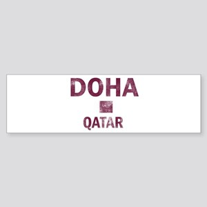 Doha Qatar Designs Sticker (Bumper)