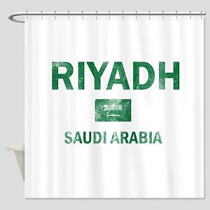 Riyadh Saudi Arabia Designs Shower Curtain
