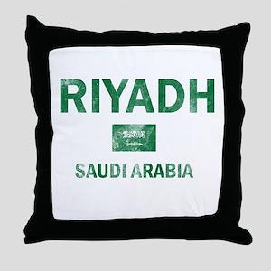 Riyadh Saudi Arabia Designs Throw Pillow