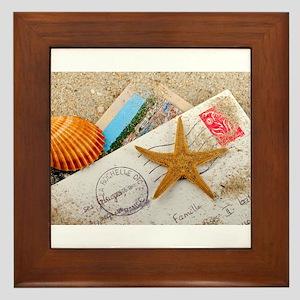 I wanna send you a letter Framed Tile