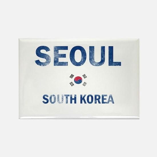Seoul South Korea Designs Rectangle Magnet