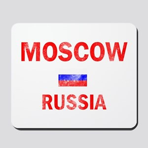 Moscow Russia Designs Mousepad