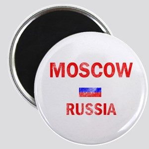 Moscow Russia Designs Magnet