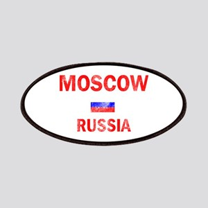 Moscow Russia Designs Patches