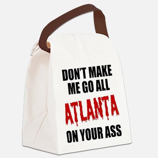 Atlanta Football Canvas Lunch Bag