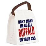 Buffalo Football Canvas Lunch Bag
