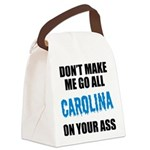 Carolina Football Canvas Lunch Bag
