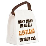 Cleveland Football Canvas Lunch Bag