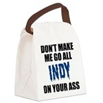 Indianapolis Football Canvas Lunch Bag