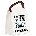Philadelphia Football Canvas Lunch Bag