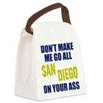 San Diego Football Canvas Lunch Bag