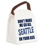 Seattle Football Canvas Lunch Bag