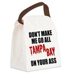 Tampa Bay Football Canvas Lunch Bag