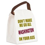 Washington Football Canvas Lunch Bag