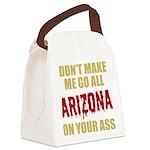 Arizona Baseball Canvas Lunch Bag