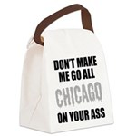 Chicago Baseball Canvas Lunch Bag