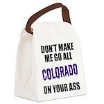 Colorado Baseball Canvas Lunch Bag
