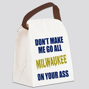 Milwaukee Baseball Canvas Lunch Bag