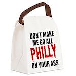 Philadelphia Baseball Canvas Lunch Bag