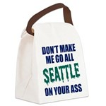Seattle Baseball Canvas Lunch Bag