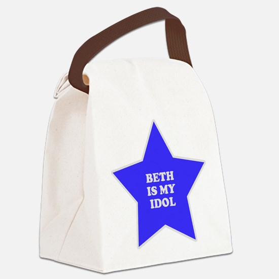 star-beth.png Canvas Lunch Bag
