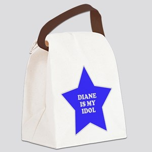 star-diane Canvas Lunch Bag