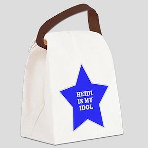 star-heidi Canvas Lunch Bag