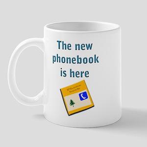 The phonebook Mug