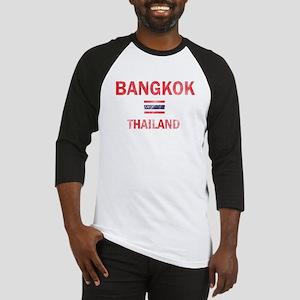 Bangkok Thailand Designs Baseball Jersey