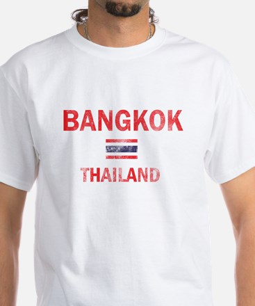 Bangkok Thailand Designs White T-Shirt