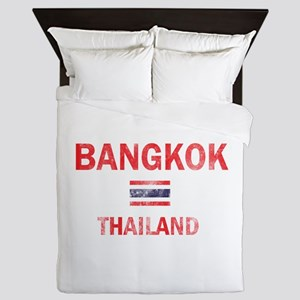 Bangkok Thailand Designs Queen Duvet