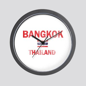 Bangkok Thailand Designs Wall Clock