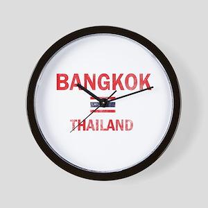 Bangkok Thailand Designs Wall Clock