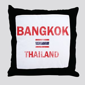 Bangkok Thailand Designs Throw Pillow