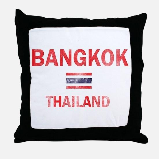 Bangkok Thailand Designs Throw Pillow