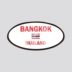 Bangkok Thailand Designs Patches