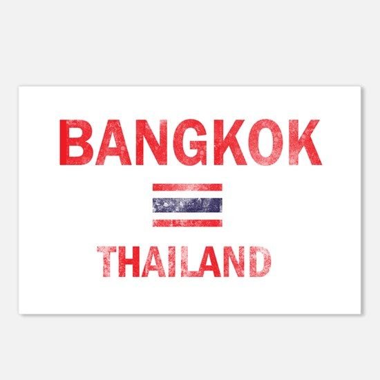 Bangkok Thailand Designs Postcards (Package of 8)