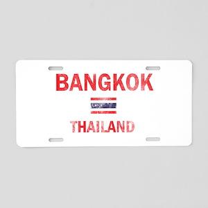 Bangkok Thailand Designs Aluminum License Plate