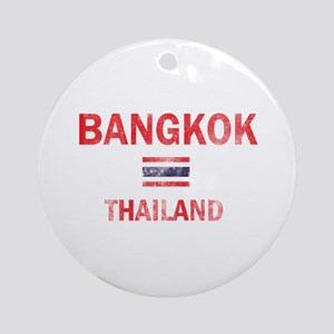 Bangkok Thailand Designs Ornament (Round)