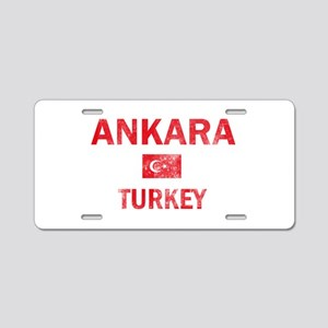 Ankara Turkey Designs Aluminum License Plate