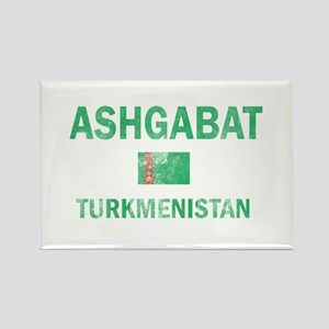 Ashgabat Turkmenistan Designs Rectangle Magnet