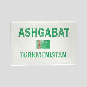 Ashgabat Turkmenistan Designs Rectangle Magnet
