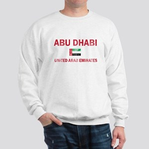 Abu Dhabi United Arab Emirates Designs Sweatshirt